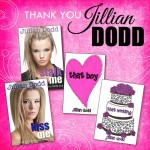 Thank you to Jillian Dodd